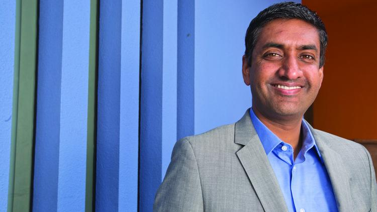 Newcomer Khanna has outraised and outspent his counterpart.