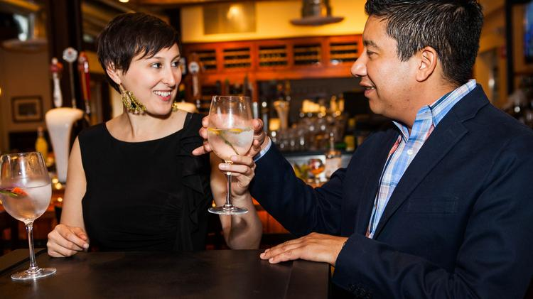 Michael Iglesias and Jessica Sackler of Dos Ojos Hospitality at The Cooperage, a Lafayette restaurant they helped open and continue to assist operationally.