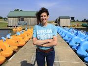 Laura Adams, executive director of the Shelby Farms Park Conservancy