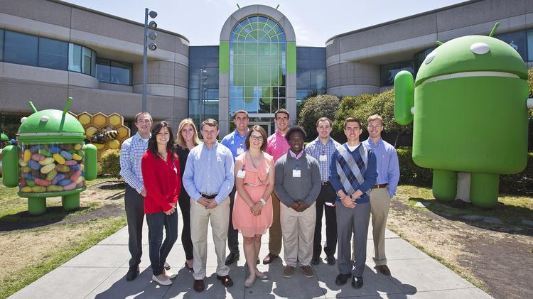 Wichita State University students who operate the Barton International Group consulting firm visited Silicon Valley last week to learn about how Wichita could foster entrepreneurship and innovation.