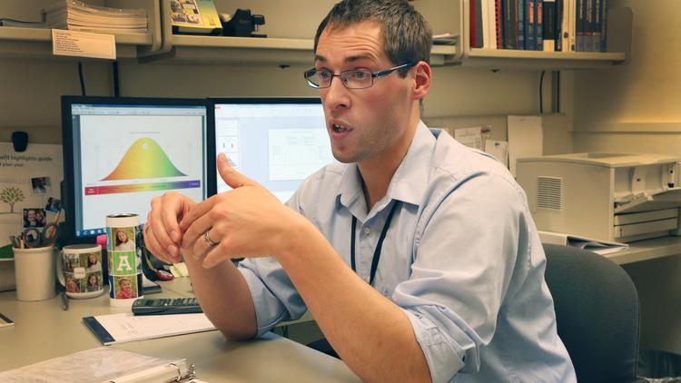 OHSU's Justin Kribs is one of only two financial planners that work specifically for a U.S. medical school.