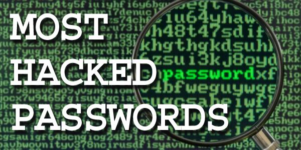 Hackers target and post easy-to-guess passwords  Here's a list of
