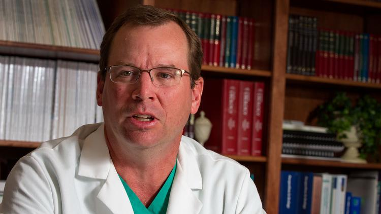Dr. James Gilbaugh, partner and co-owner at Wichita Urology Group PA.