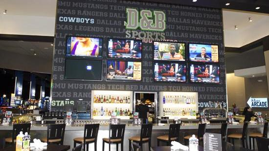Dave & Buster's flagship location in Dallas