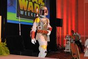 It wouldn't be a Disney event without Star Wars' infamous bounty hunter Boba Fett.