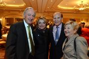 From left, Sen. Tom Harkin; Suzanne and Bob Wright, co-founders of Autism Speaks; and Ruth Harkin.