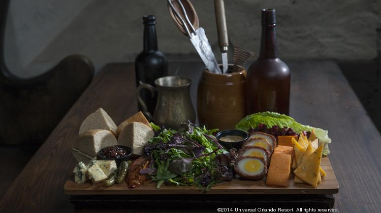 The Wizarding World of Harry Potter – Diagon Alley, opening this summer at Universal Studios, will offer a number of creative foods and beverages for guests.