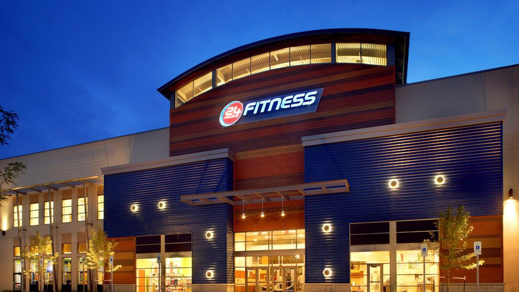24 Hour Fitness Logo Vector