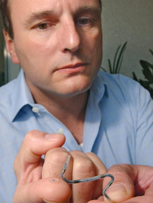 Proteus Digital Health CEO Andy Thompson has raised $120 million to help expand his Redwood City company's digital medical devices.