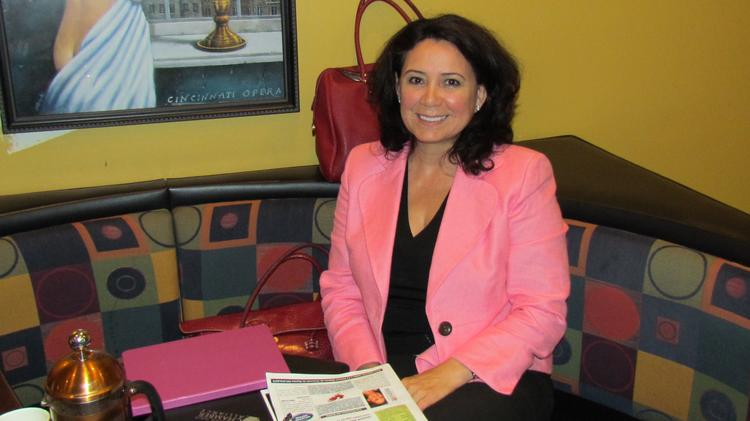 Claudia Cortez-Reinhardt is the interim executive director of the Dayton Hispanic Chamber.