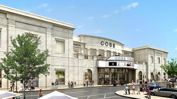 The two-story complex will total 85,000 square feet and have a Cobb VIP theatre on the first floor and a Cinébistro on the second floor. Both theaters will have a bar and wine cellar and fully reclining leather seats.