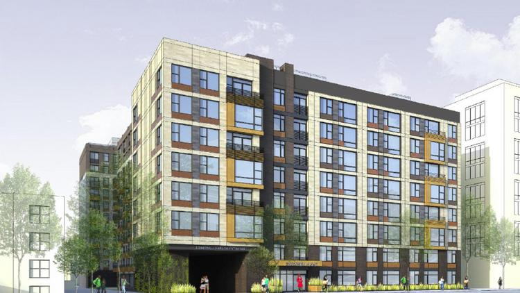 The Portner Flats, on V Street, will be a 90-unit affordable building, part of Somerset's redevelopment of Portner Place, in the heart of the U Street corridor.