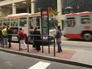 Bus and light-rail operators failed to come into work as part of a labor dispute.