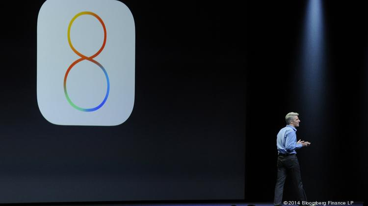 The newest version of Apple's mobile operating system, iOS 8, is rumored to feature split-screen app support.