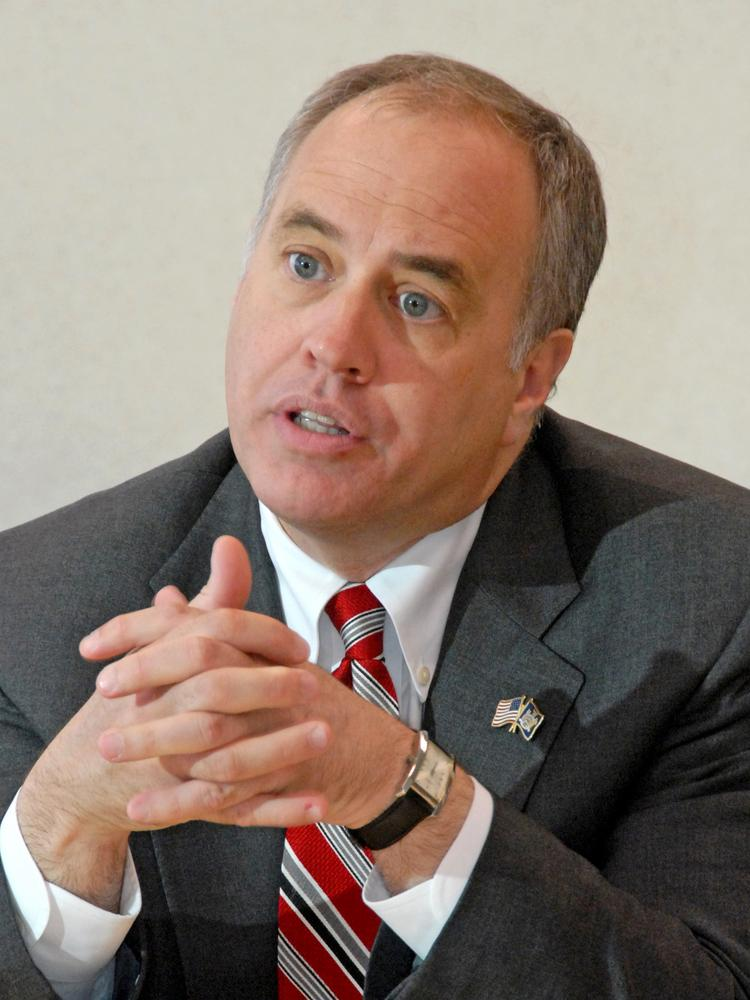 Thomas DiNapoli is the New York state comptroller.