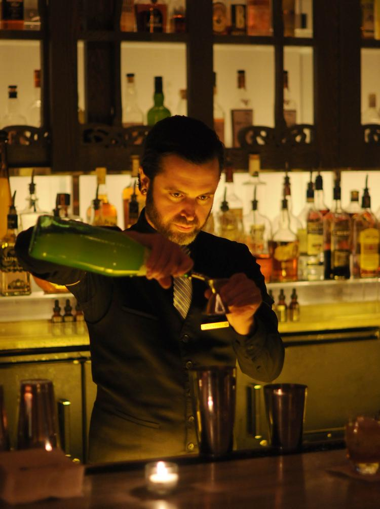 Shawn Jones mixes drinks at Bradstreet Craftshouse in the 601 Graves Hotel in this 2012 photo (Jones is now at Uptown's Coup d'Etat).