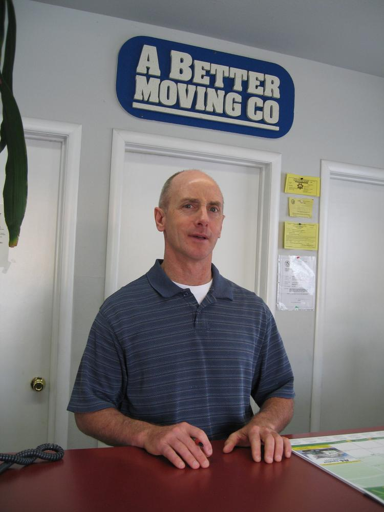 Steve Stern is chief operating officer of Carmichael-based A Better Moving Co.