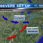 Severe storms expected for the Dayton region today