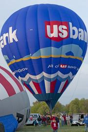 Factors that can cause a U.S. Bank Balloon Fest race to be postponed include: Winds faster than 12 miles per hour, less than three miles of visibility, clouds below 1,500 feet or rain. Fortunately factors were favorable on Friday morning, and the rush-hour race went off as scheduled.