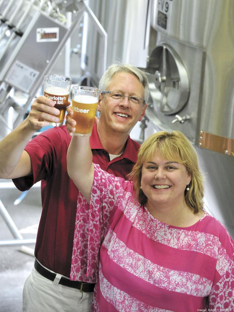 Todd and Suzie Ford launched NoDa Brewing Co. in 2011.