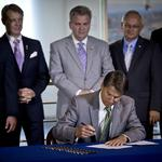 Image of the Day: Gov. McCrory Signs Energy Modernization Act Of 2014