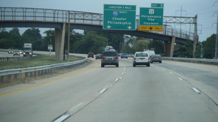 Weeks ahead of schedule, a portion of I-495 in Delaware has reopened.
