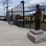 With new statue, Jim Melvin expands mark on NewBridge Bank Park