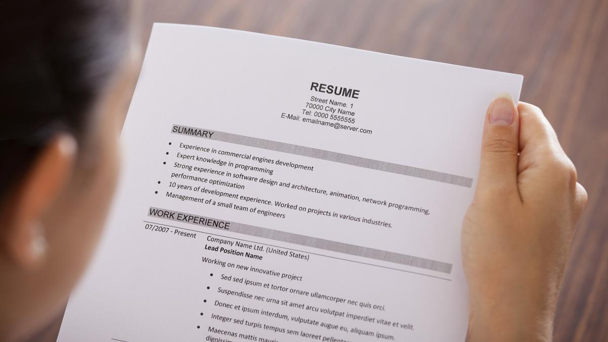 What can you put on a resume if you've never had a job before?