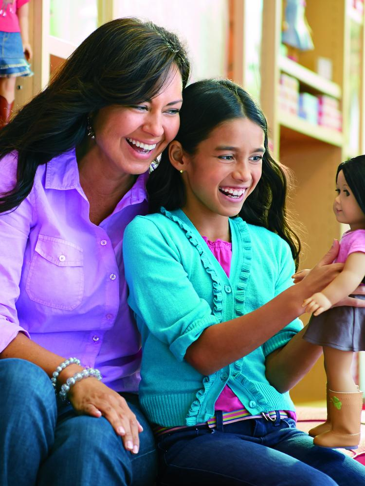 American Girl sells dolls, accessories, books and more targeted to girls age 3 to 12.