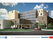 Rendering of the McKinley Outpatient Facility