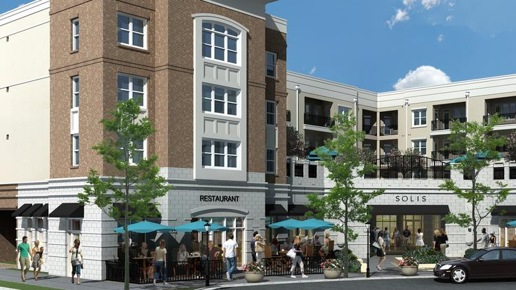 Construction of Dogwood Southern Table & Bar could begin in August. The restaurant in SouthPark's Sharon Square will owned by Jon and Kim Dressler.