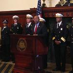 Ayers retires, Nutter names new fire commissioner