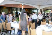 More than 500 people turned out for PBN's 2013 Women Who Mean Business event at The Royal Hawaiian hotel in Waikiki, with guests seated inside the Monarch Room and outside on the lanai.
