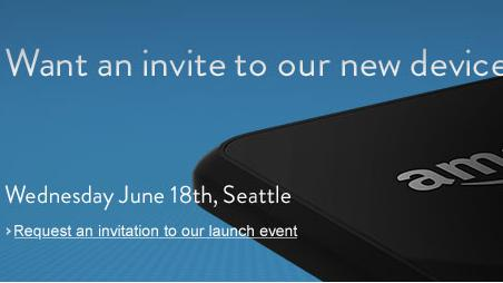 Amazon is inviting customers to a June 18 event in Seattle, where it will unveil a new device.