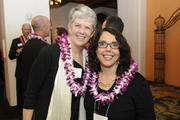 Mimi Beams of Inkinen & Associates, left, and Gail Lerch of Hawaii Pacific Health.