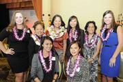 The Staffing Solutions of Hawaii team, back row, from left, Cassie Townsend, Loan Truong, Lisa Truong Kracher, Alyson Emde,Suzanne Kiyabu and Paulina Sirgo. Front row from left, Sammy Tolentino and Gemma Reyes.