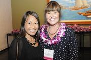 Charlene Prieto, left, physician liaison for Pali Momi Medical Center and Jen Chahanovich, the hospital's CEO and Women Who Mean Business finalist.