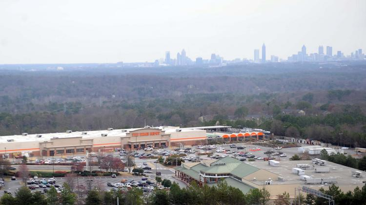 Home Depot has 5,000 people on its Vinings campus.