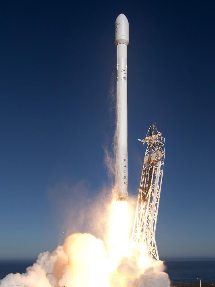A Space X rocket exploded outside Waco Friday.