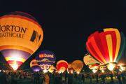 According to Kentucky Derby Festival Inc. officials, hot-air balloon events became part of the festival with the first Great Balloon Race in 1973. The event included 11 balloons that launched from Iroquois Park.