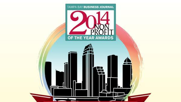 More than 400 people gathered at the 2014 Nonprofit of the Year Awards luncheon on June 5 in Tampa, hosted by The Tampa Bay Business Journal.
