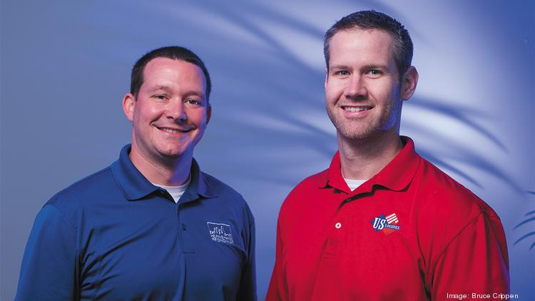 Doug Logeman, left, and Jeff Hiatt founded US Logistics in 2009.