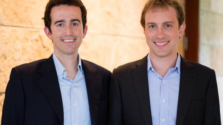 Andrew Allison, left, and Matt Stuart, right, are the co-founders of Main Street Hub, which is one of the fastest growing private companies in the country, according to Inc. magazine.