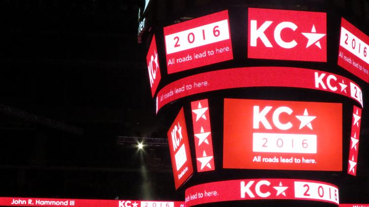 The Republican National Committee's site-selection committee toured the Sprint Center on Thursday as part of its evaluation of Kansas City's bid to host the 2016 Republican National Convention.