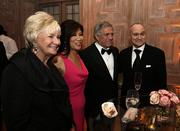 From right, New York Police Department Commissioner Raymond Kelly; Leslie Moonves, CEO of CBS; television host Julie Chen; and a guest.