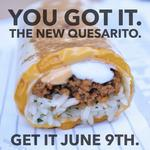 What do you get when you mix a burrito and a quesadilla?