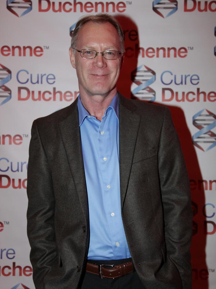 Michael Kelly, chief scientific officer for CureDuchenne, previously had a 25-year career in big pharma companies like Amgen, Wyeth and Wellcome.