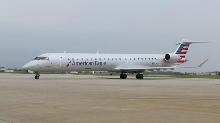 At least one of PSA Airline's new CRJ-900s — a 76-seat airplane — will begin making stops in Dayton on July 31.