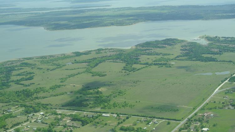 The region east of Lake Lavon, pictured here, could get a new tolled highway to increase mobility.