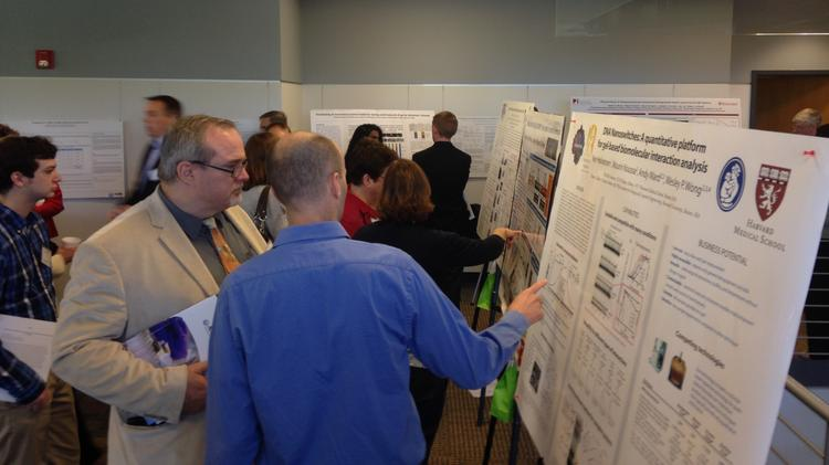 Sixty doctors, scientists, business leaders and government officials attended Capital Region commercialization of life sciences innovation day at the headquarters of Albany Molecular Research Inc. in Albany, New York.